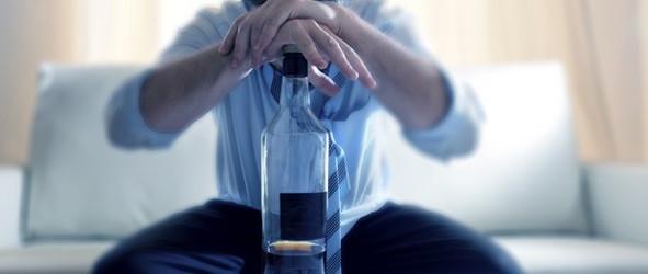Alkoholsucht in der Familie belastet die Angehörigen